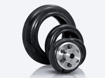 Gummi-Wellen-Reifen-Kupplung