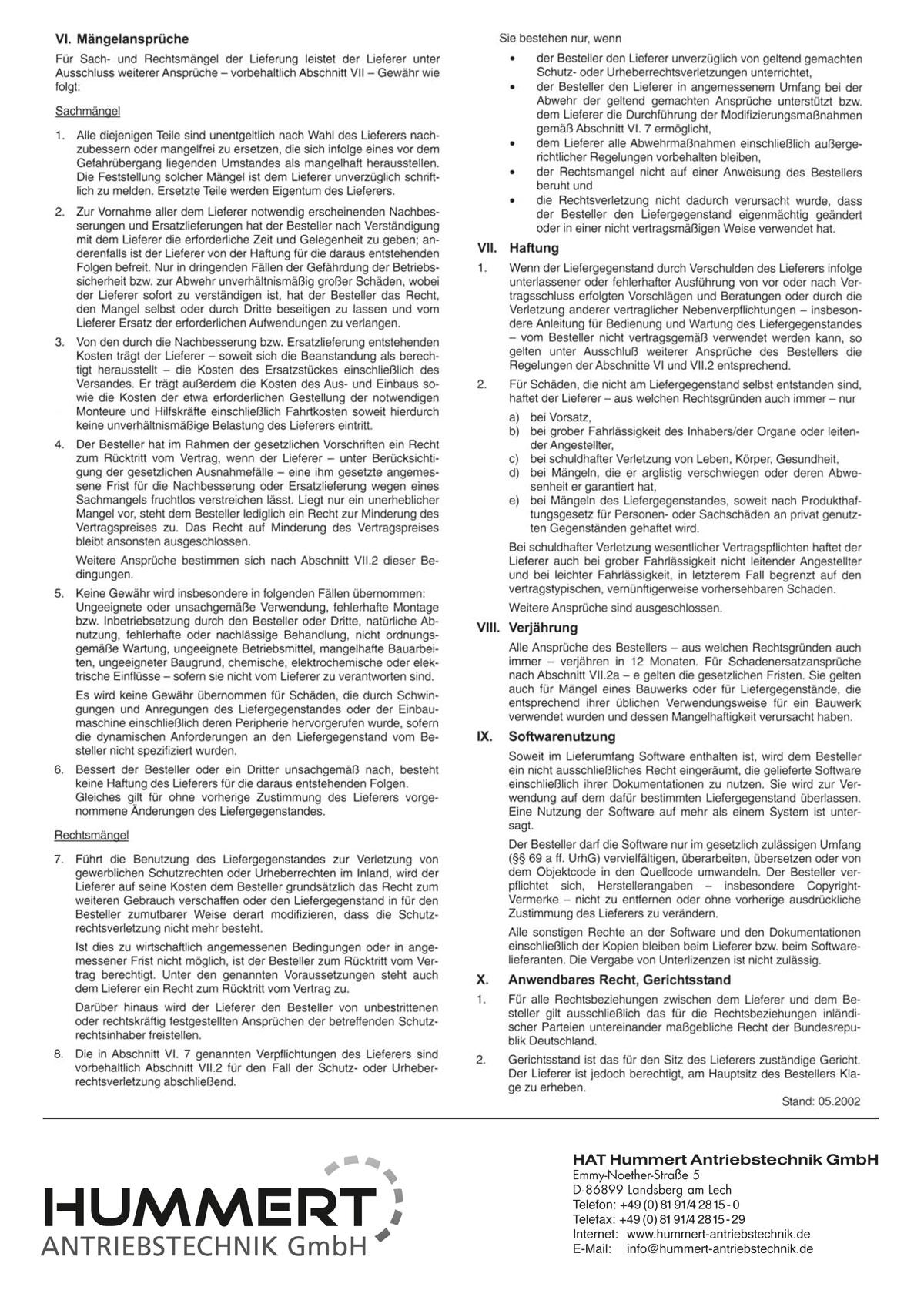 AGB Hummert Antriebstechnik GmbH, Seite 2